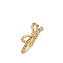 kate spade NEW YORK - skinny mini pave bow ring