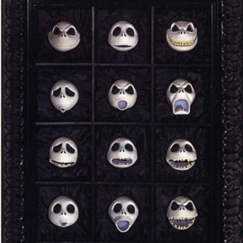 Nightmare Before Christmas (1993) - The 12 Faces of Jack Skellington. Edition Size: 275 Sculpture of Jack Skellington.