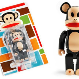 MEDICOM TOY - PAUL FRANK BE@RBRICK 100%