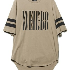 "3.1 Phillip Lim - 3.1 Phillip Lim MEN(フィリップリムメン)のcrewneck t-shirt w/ mirrored ""weirdo""print(Tシャツ・カットソー)