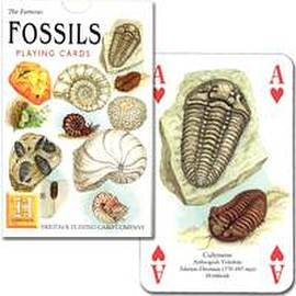 Heritage Playing card company - FOSSILS PLAYINGCARDS