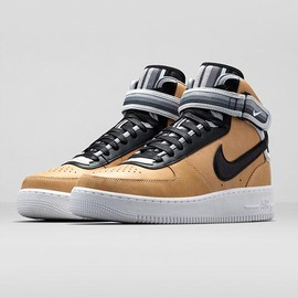 airforce 1 mid (wht)