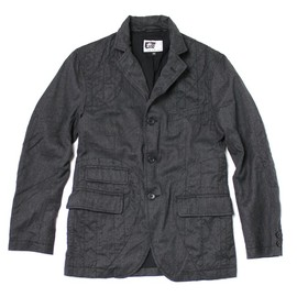 Engineered Garments - Hartford Jacket,Charcoal Wool Flannel