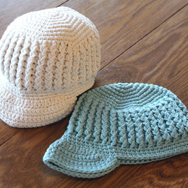Simon.L × little feve - Cotton Knit Cap/12-24M