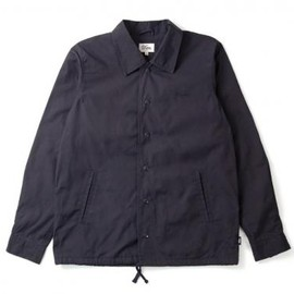 DQM - DQM BELFAST CANVAS COACHES JACKET NVY