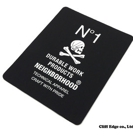 NEIGHBORHOOD - NEIGHBORHOODスーベニアシリーズDURABLE/R-MOUSEPAD[マウスパッド]BLACK290-002667-011x【新品】
