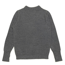 Andersen-Andersen - The Navy Crew Neck Knit-Grey