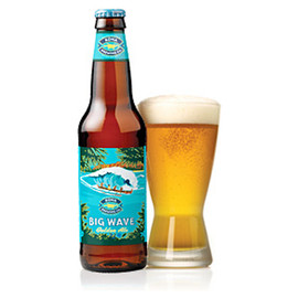 Kona Brewing Co. - Big wave Golden Ale