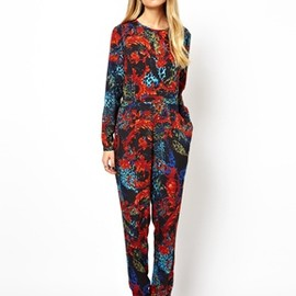 ASOS - Jumpsuit in Animal Baroque Print