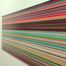 Gerhard Richter - New Strip Paintings and 8 Glass Panels