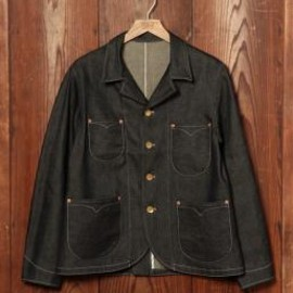 Levi's - LEVIS VINTAGE CLOTHING-サックコート/ブラックデニム/MADE IN THE USA