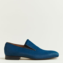 Dries Van Noten - Dries Van Noten Men's Fur Smoking Slippers