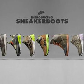 Nike - NIKE SNEAKERBOOT 2013 HOLIDAY COLLECTION