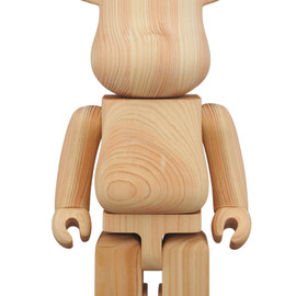 MEDICOM TOY - BE@RBRICK カリモク HINOKI CYPRESS 400%