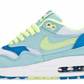 Nike - wmns Air Max 1 Julep, Liquid Lime & Coast Blue