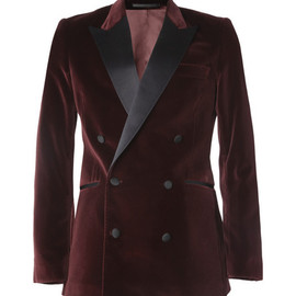 Acne - Grant Slim-Fit Velvet Tuxedo Jacket