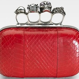 Alexander McQueen - clutch bag