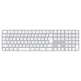 Apple - Magic Keyboard with Touch ID and Numeric Keypad for Mac models with Apple silicon
