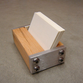 andrewsreclaimed - Modern Business Card Holder