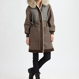 MARC BY MARC JACOBS - Division Fox Trim Parka