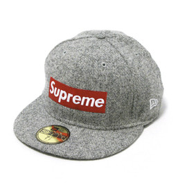 Supreme - Supreme - Harris Tweed Box Logo New Era