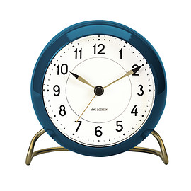 ARNE JACOBSEN - ARNE JACOBSEN TABLE CLOCK STATION BLUE LIMITED