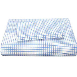 company kids - graph paper percale bedding