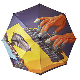 Seletti - Umbrella -Typewriter-