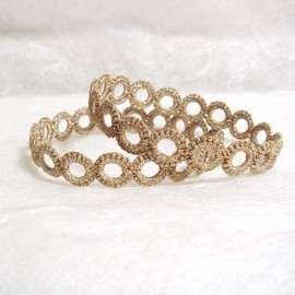 mokor - gold bangle
