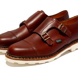 Paraboot - Paraboot for United Arrows Double Monk Strap