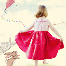 Belle & Boo - Fly A Kite Dress