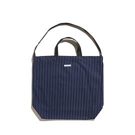 ENGINEERED GARMENTS - Carry All Tote-Wabash St.-Indigo
