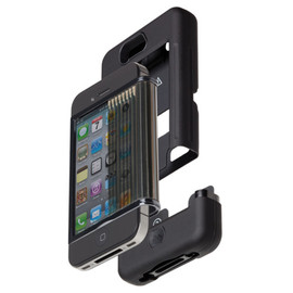 Case-Mate - iPhone 4S / 4 Tank Case, Black / Black