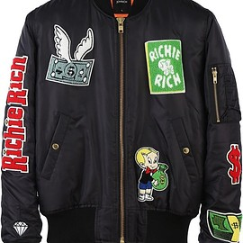 JOYRICH, Richie Rich - Patched Jkt / BLACK
