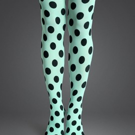 Happy Socks - Big dot tight mint