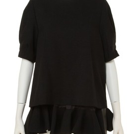 G.V.G.V. - LAYERED RUFFLE HEM TOP