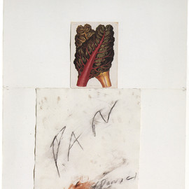Cy Twombly - PAN, 1975, wax crayon, collage