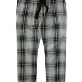 bal - Drawstring Pant (grey check)