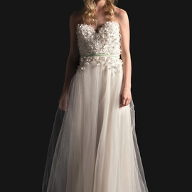 sarah seven bridal 2014 dulcinea strapless wedding dress