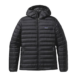 patagonia - M'S DOWN SWEATER HOODY, Black (BLK)