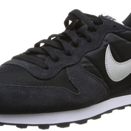 NIKE - INTERNATIONALIST (BLACK×SILVER)
