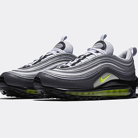 NIKE - W Air Max 97 - Dark Grey/Volt