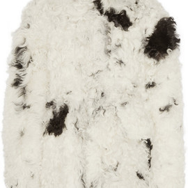miu miu - Oversized shearling coat