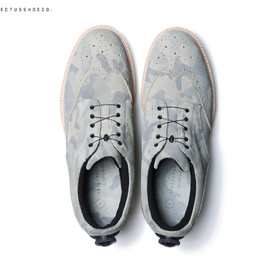 SOPHNET. - SPECTUSSHOECO. WING TIP BLUCHER SHOES (DISC SYSTEM)