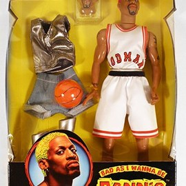 "Street Players - Dennis Rodman ""Bad as I Wanna Be"" Figure"