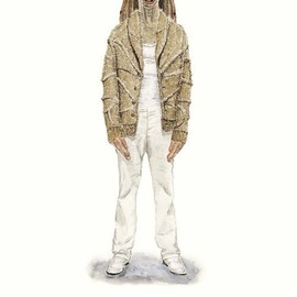 John Woo - He Wears It 003 - Jar Jar Binks wears Maison Martin Margiela