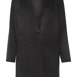Theory - Peirette wool and cashmere-blend coat