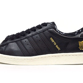 "adidas - SUPERSTAR 80V ""UNDEFEATED x A BATHING APE"" ""LIMITED EDITION for CONSORTIUM"""
