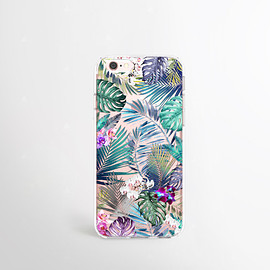 csera - iPhone 6s Case Tropical iPhone 6 Case Clear Summer iPhone Cases iPhone 6s Plus Case Transparent