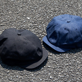 "Just Right - The 2nd ""Sports-Newsboy Cap"" - Denim & Black Duck"